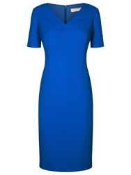 Planet V Neck Shift Dress Cobalt