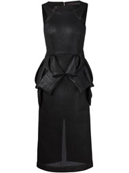 Jean Pierre Braganza Jean Pierre Braganza 'Vought' Dress Black