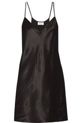 Dkny Satin Tunic Black