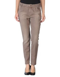 Heavy Rough Casual Pants Khaki