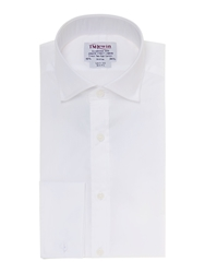 T.M.Lewin Poplin Slim Fit Shirt White
