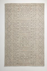 Anthropologie Tufted Calan Rug Swatch Neutral