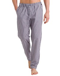 Hanro Night And Day Woven Pant Red Pattern