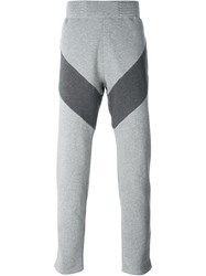 Givenchy Panelled Track Pants Grey