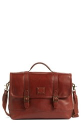 Cole Haan Men's Leather Messenger Bag Brown British Tan