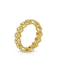 Roberto Coin New Barocco 18K Gold Diamond Ring