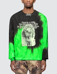 Misbhv Once Tie Dye Long Sleeve T Shirt Multicolor
