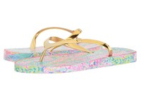 Lilly Pulitzer Pool Flip Flop Multi Catch The Wave Sandals