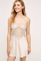 Anthropologie Flora Nikrooz Showstopper Chemise Sand