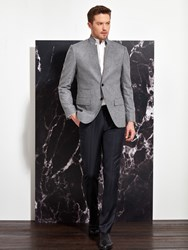 Shanghai Tang Cashmere Jacket Light Heather Grey