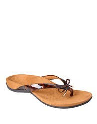 Vionic Bella Ii Thong Sandals Brown