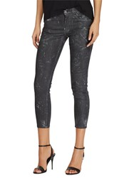 Ralph Lauren Polo Tompkins Cropped Skinny Jeans Black Ground Clay