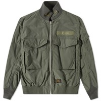 Wtaps Wfs Jacket Green