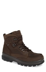 Ecco Rugged Track Gore Tex Boot Coffee Leather