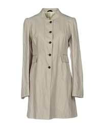 Tonello Overcoats Light Grey