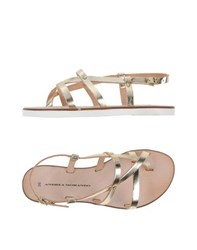 Andrea Morando Footwear Thong Sandals Women