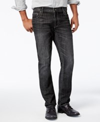 Inc International Concepts Men's Slim Fit Straight Leg Black Wash Jeans Only At Macy's