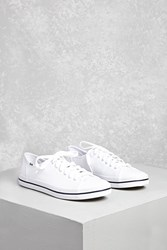 Forever 21 Keds Lace Up Low Top Sneakers White