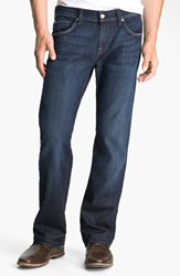 7 For All Mankindr Men's Big And Tall Mankind 'Austyn' Relaxed Straight Leg Jeans Los Angeles Dark