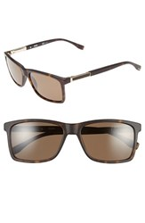 Boss Men's '0704Ps' 57Mm Polarized Sunglasses