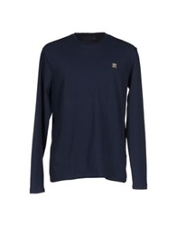 Gaudi' T Shirts Dark Blue