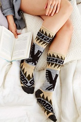 Urban Outfitters Eagle Patterned Thick Boot Sock