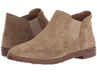 Trask Allison Taupe Oiled Suede Dress Boots Brown