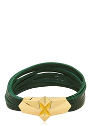 Tomasz Donocik Shard Burst Bracelet Green Gold