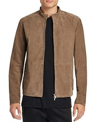 Theory Arvid Suede Jacket Foundation
