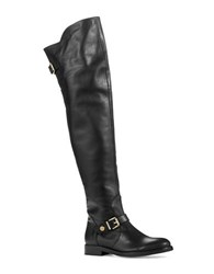 Kurt Geiger Rowland Over The Knee Boots Black Leather