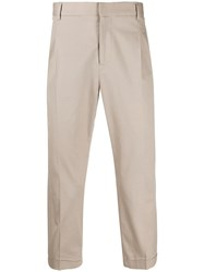 Daniele Alessandrini Cropped Tailored Trousers 60