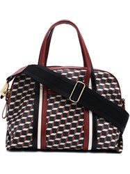 Pierre Hardy 'Rally ' Shoulder Bag Red