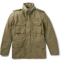 Wacko Maria M 65 Cotton Canva Field Jacket Green