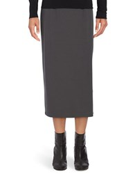 Eileen Fisher Midi Pencil Skirt Graphite