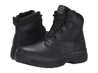 Timberland 6 Valor Duty Soft Toe Side Zip Black Men's Work Lace Up Boots