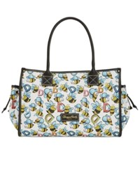Dooney And Bourke Bumble Bee Delaney Large Tote A Macy's Exclusive Style White