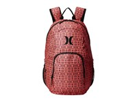 Hurley One And Only Printed Backpack Hyper Orange Black Black Backpack Bags Red