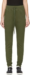 Earnest Sewn Green Kendall Lounge Pants