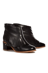 Stylebop.Com Festival Capsule Collection Laurence Dacade Ankle Boots With Fringe