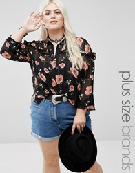 Alice And You Pie Crust Printed Top Multi