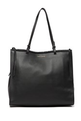 Vince Camuto Litzy Leather Tote Bag Black 01