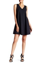 Abs Collection Pleated Back Trapeze Dress Black