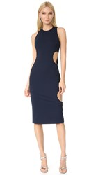 Cushnie Et Ochs Dana Sleeveless Pencil Dress Navy