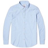 Barbour Heritage Charles Oxford Shirt Blue