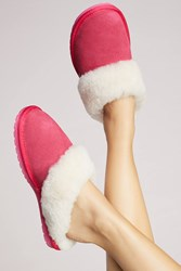 Anthropologie Emu Jolie Slippers Raspberry