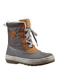 Helly Hansen Framheim Leather Winter Boots Grey