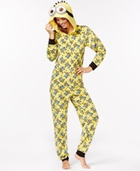 Briefly Stated Despicable Me Minion Adult Hooded Onesie