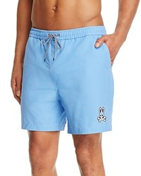 Psycho Bunny Solid Swim Trunks Marina