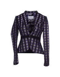 Gianfranco Ferre Gf Ferre' Suits And Jackets Blazers Women Purple