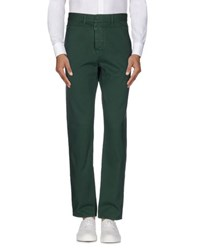 Dirk Bikkembergs Sport Couture Trousers Casual Trousers Men Green